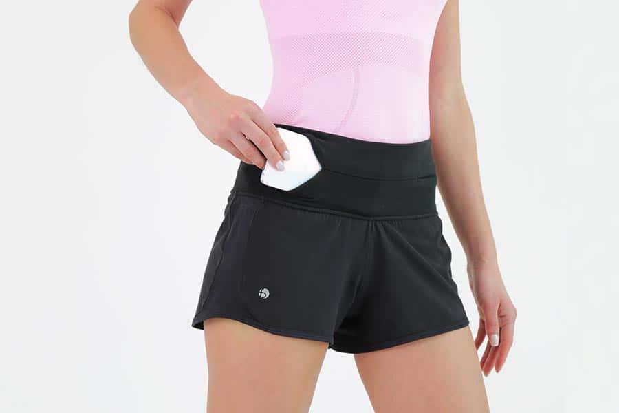 flipbelt shorts fram